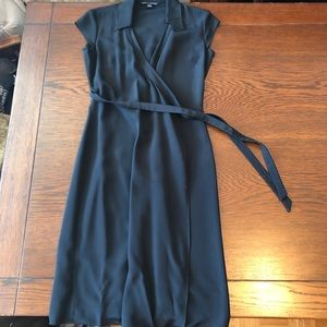 Banana Republic Silk Wrap Dress